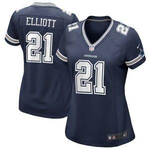 Women's Dallas Cowboys Ezekiel Elliott 1